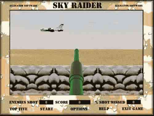 Game Sky raider. For free download the game Sky Raider press download button.